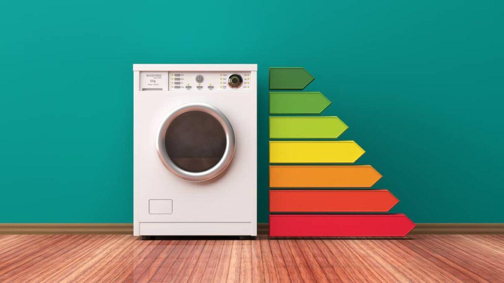 Wasdroger energielabels