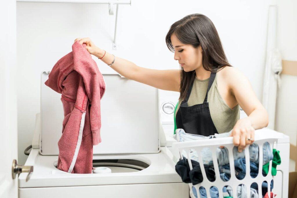 Was in wasmachine met bovenlader