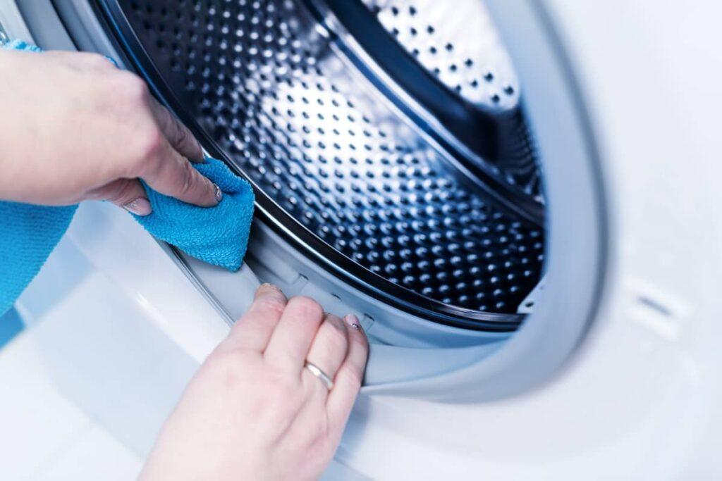 Schoonmaken van wasmachine